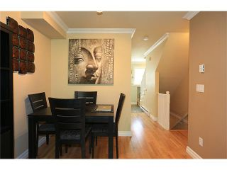 """Photo 6: 25 1561 BOOTH Avenue in Coquitlam: Maillardville Townhouse for sale in """"The Courcelles"""" : MLS®# V1026526"""