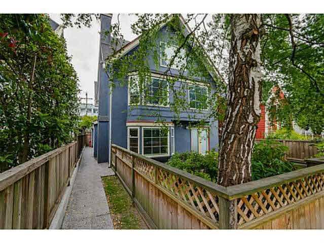 Main Photo: 3310 W 8TH AVENUE in : Kitsilano 1/2 Duplex for sale : MLS®# V1126727