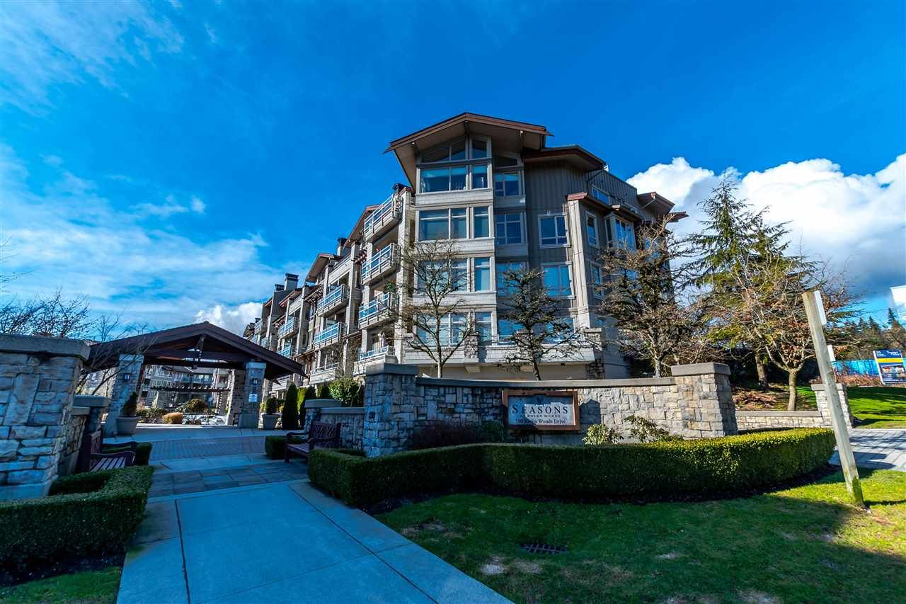 "Main Photo: 312 580 RAVEN WOODS Drive in North Vancouver: Roche Point Condo for sale in ""SEASONS @ RAVEN WOODS"" : MLS®# R2140740"
