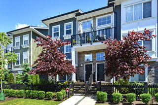 "Photo 1: 29 7686 209 Street in Langley: Willoughby Heights Townhouse for sale in ""KEATON"" : MLS®# R2279137"