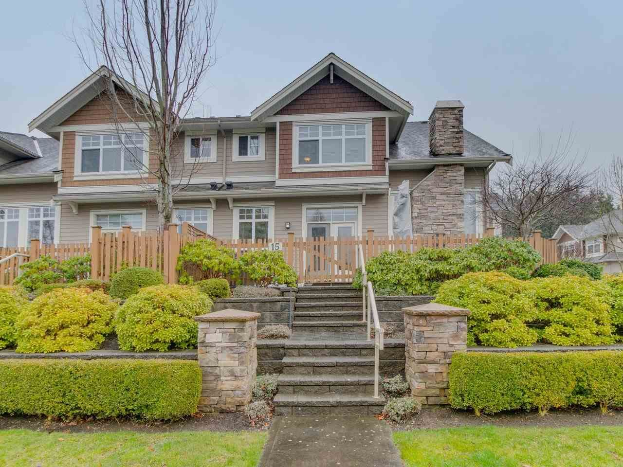 """Photo 2: Photos: 15 2456 163 Street in Surrey: Grandview Surrey Townhouse for sale in """"Azure East"""" (South Surrey White Rock)  : MLS®# R2535860"""
