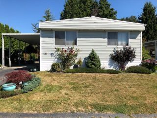 Photo 1: 241 1840 160 Street in Surrey: King George Corridor Manufactured Home for sale (South Surrey White Rock)  : MLS®# R2487193