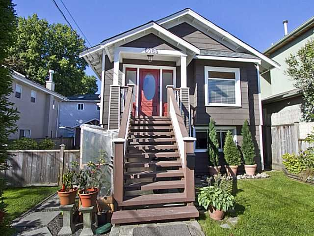 Main Photo: 6085 QUEBEC Street in Vancouver: Main House for sale (Vancouver East)  : MLS®# V1049691