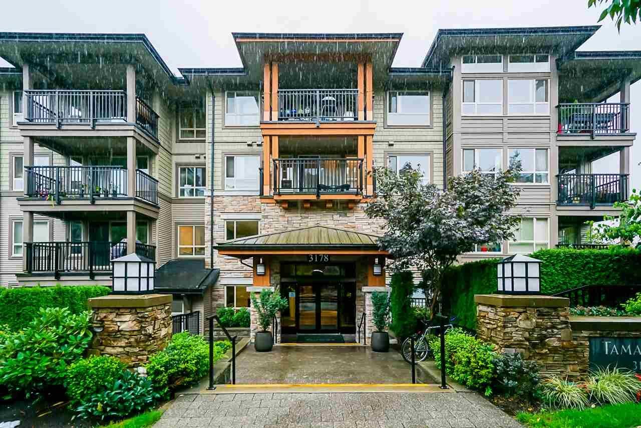 "Main Photo: 217 3178 DAYANEE SPRINGS Boulevard in Coquitlam: Westwood Plateau Condo for sale in ""Tamarack"" : MLS®# R2501637"