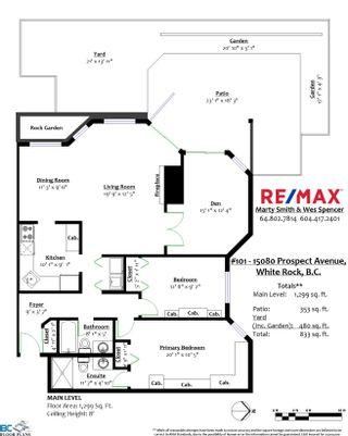 """Photo 32: 101 15080 PROSPECT Avenue: White Rock Condo for sale in """"The Tiffany"""" (South Surrey White Rock)  : MLS®# R2610135"""