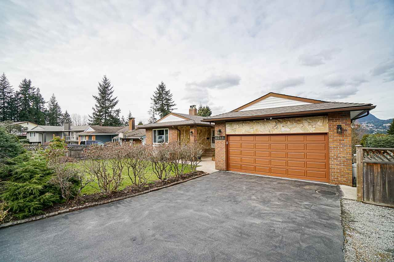 Main Photo: R2547170 - 2719 PILOT DRIVE, COQUITLAM HOUSE