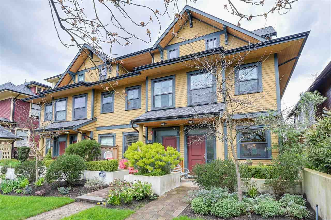 Main Photo: 1849 CHARLES STREET in : Grandview Woodland Residential Attached for sale : MLS®# R2050462