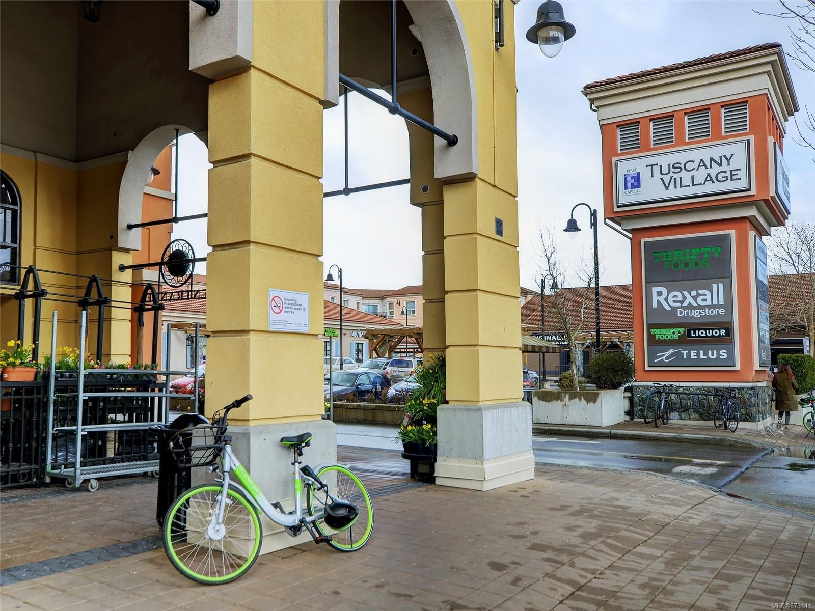 Tuscany Village was built in 2007 and includes over 15 shops, residential & commercial suites and both above & below ground parking