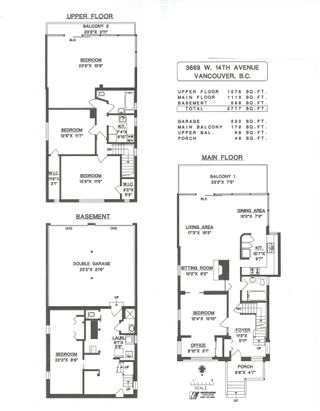 """Photo 39: 3669 W 14TH Avenue in Vancouver: Point Grey House for sale in """"Point Grey"""" (Vancouver West)  : MLS®# R2621436"""