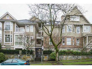 "Photo 1: 303 2588 ALDER Street in Vancouver: Fairview VW Condo for sale in ""BOLLERT PLACE"" (Vancouver West)  : MLS®# V1101808"