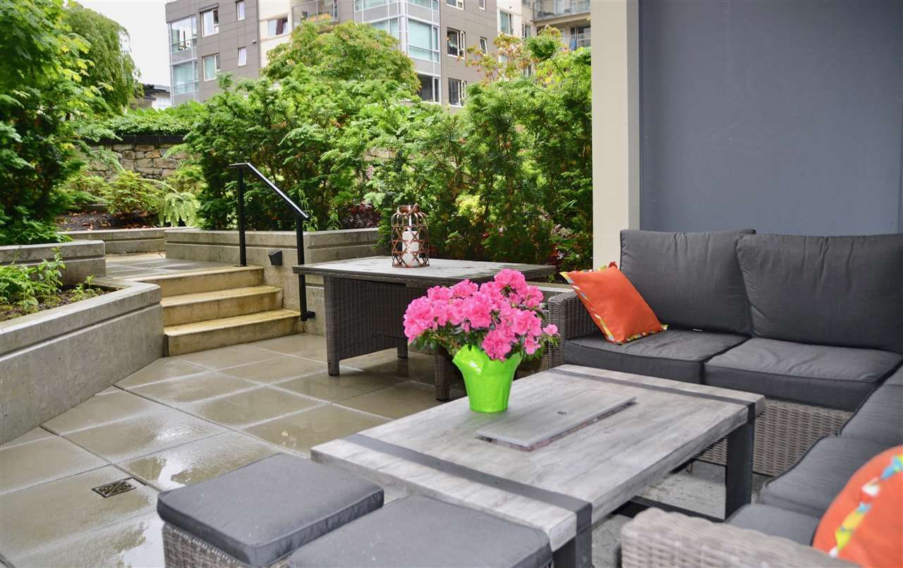 Main Photo: 110 3581 ROSS DRIVE in Vancouver: University VW Condo for sale (Vancouver West)  : MLS®# R2484256