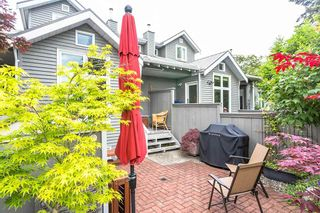 """Photo 1: 1585 BOWSER Avenue in North Vancouver: Norgate Townhouse for sale in """"Illahee"""" : MLS®# R2465696"""