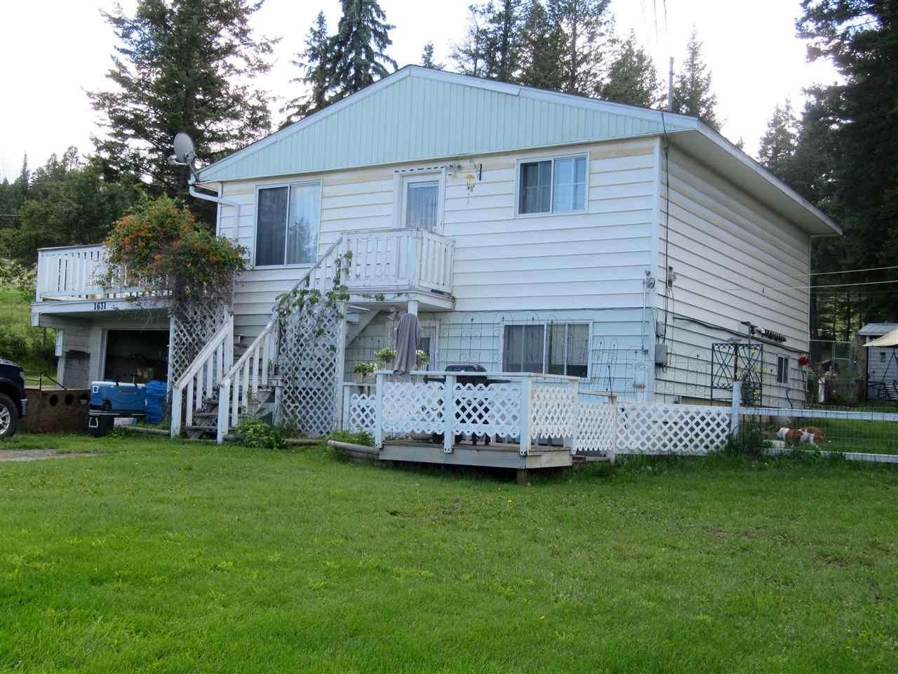 Main Photo: 1631 DOG CREEK Road in Williams Lake: Esler/Dog Creek House for sale (Williams Lake (Zone 27))  : MLS®# R2390079
