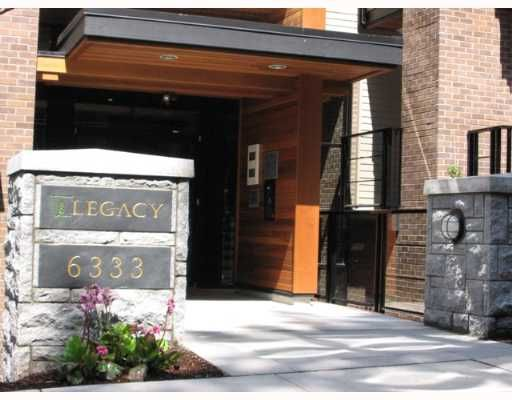 """Photo 2: Photos: 402 6333 LARKIN Drive in Vancouver: University VW Condo for sale in """"LEGACY"""" (Vancouver West)  : MLS®# V646496"""