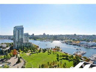 Photo 1: 1806 638 Beach Crescent in Vancouver: Yaletown Condo for sale (Vancouver West)  : MLS®# V1079346