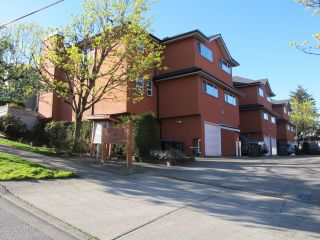 Photo 1: 103 303 CUMBERLAND Street in New Westminster: Sapperton Townhouse for sale : MLS®# R2053717