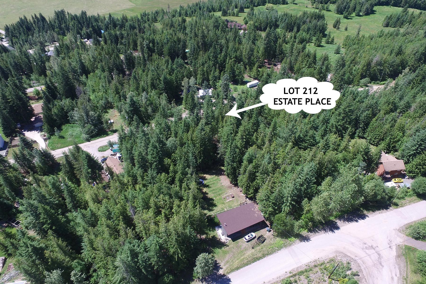 Main Photo: Lot 212 Estate Place in Anglemont: North Shuswap Land Only for sale : MLS®# 10233839