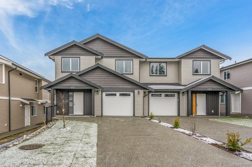 Main Photo: 455 Silver Mountain Dr in : Na South Nanaimo Half Duplex for sale (Nanaimo)  : MLS®# 863967