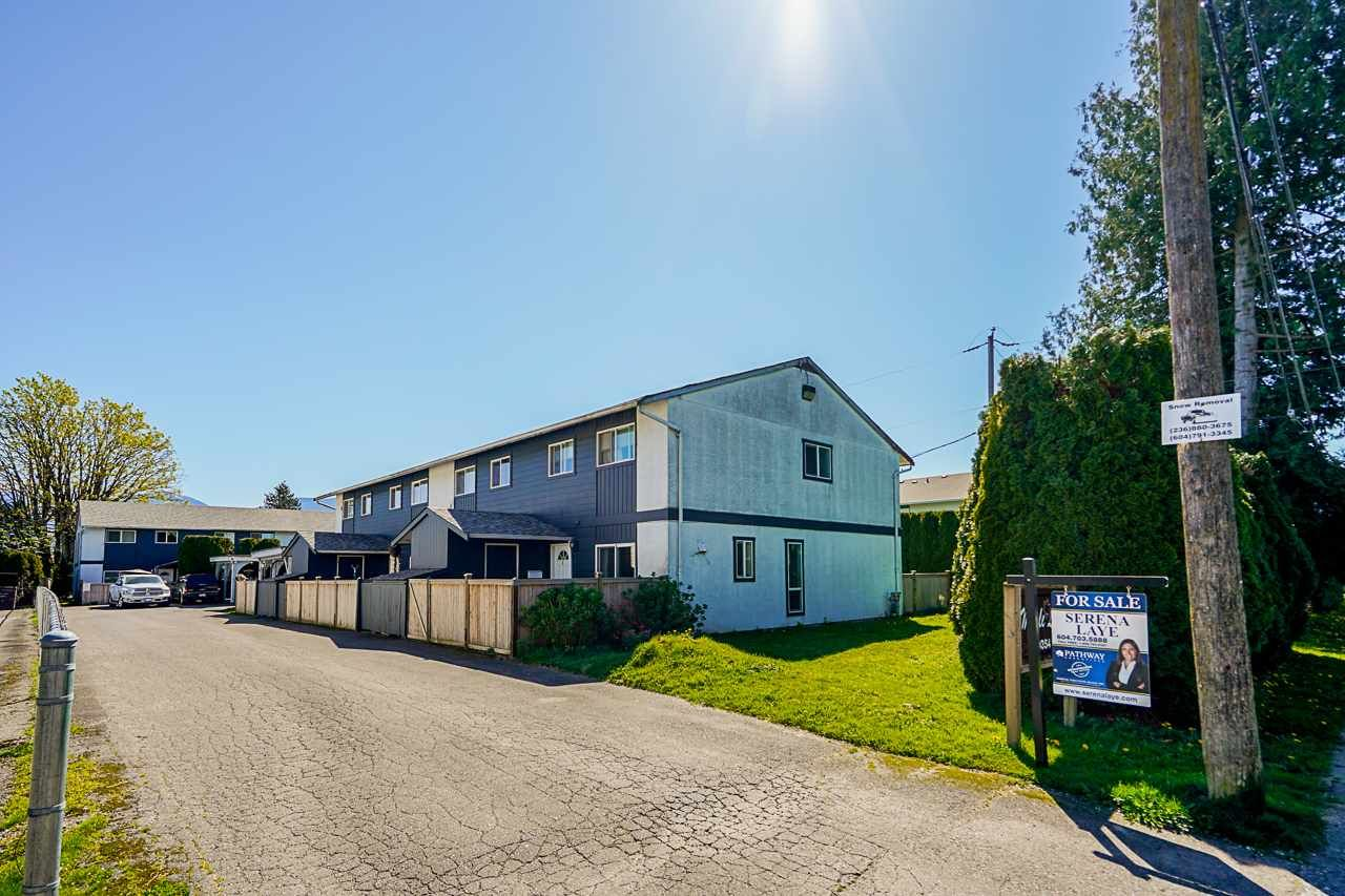"""Main Photo: 1 9354 HAZEL Street in Chilliwack: Chilliwack E Young-Yale Townhouse for sale in """"Maple Lane"""" : MLS®# R2569043"""