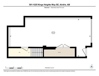 Photo 26: 501 1225 Kings Heights Way: Airdrie Row/Townhouse for sale : MLS®# A1064364