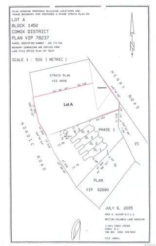 Main Photo: Lot A Nordic Dr in : CV Mt Washington Land for sale (Comox Valley)  : MLS®# 882646