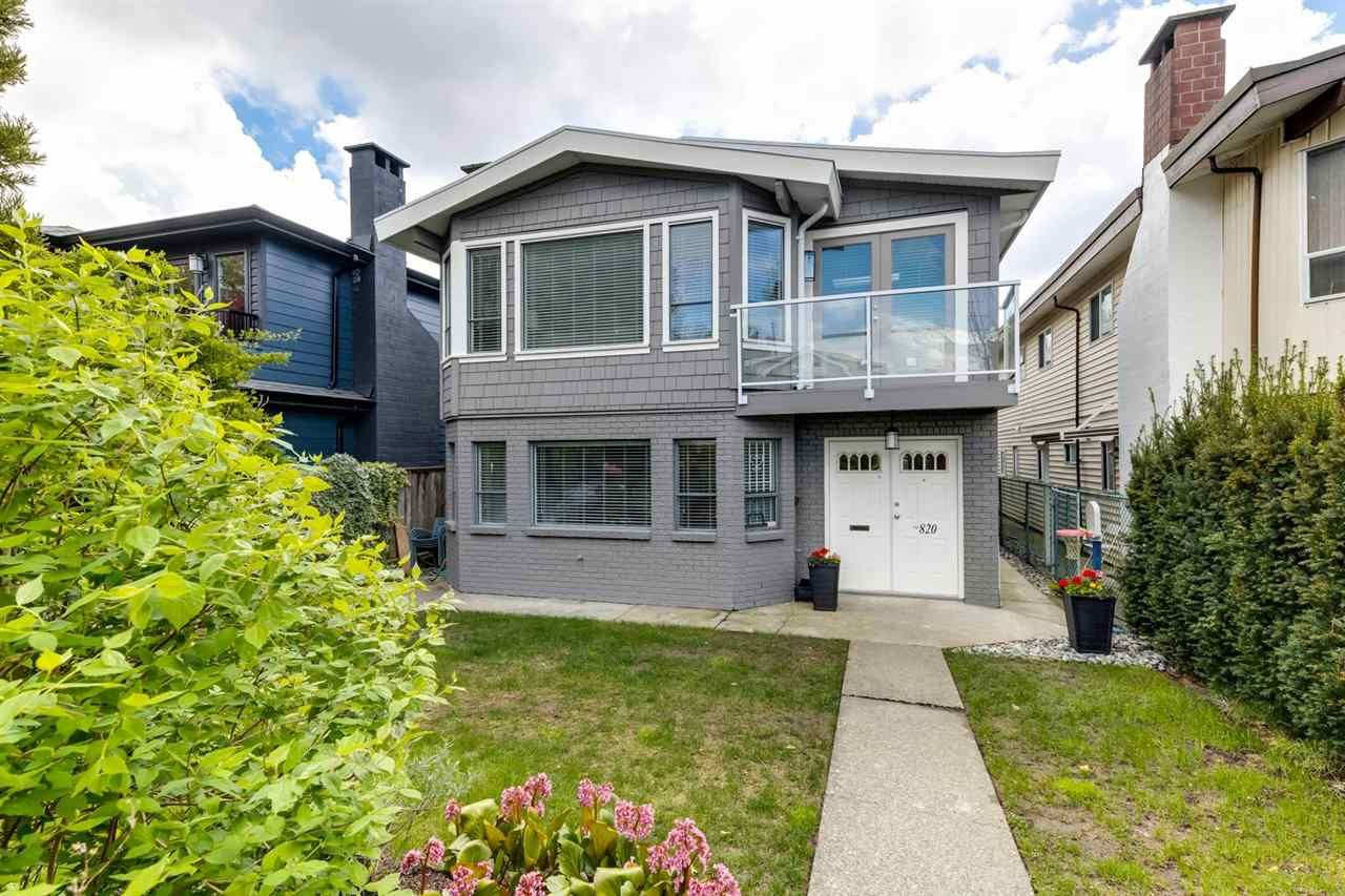Main Photo: 820 E 37TH Avenue in Vancouver: Fraser VE House for sale (Vancouver East)  : MLS®# R2572909