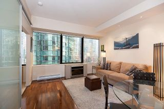 "Photo 10: 707 1333 W GEORGIA Street in Vancouver: Coal Harbour Condo for sale in ""Qube Coal Harbour"" (Vancouver West)  : MLS®# R2541272"