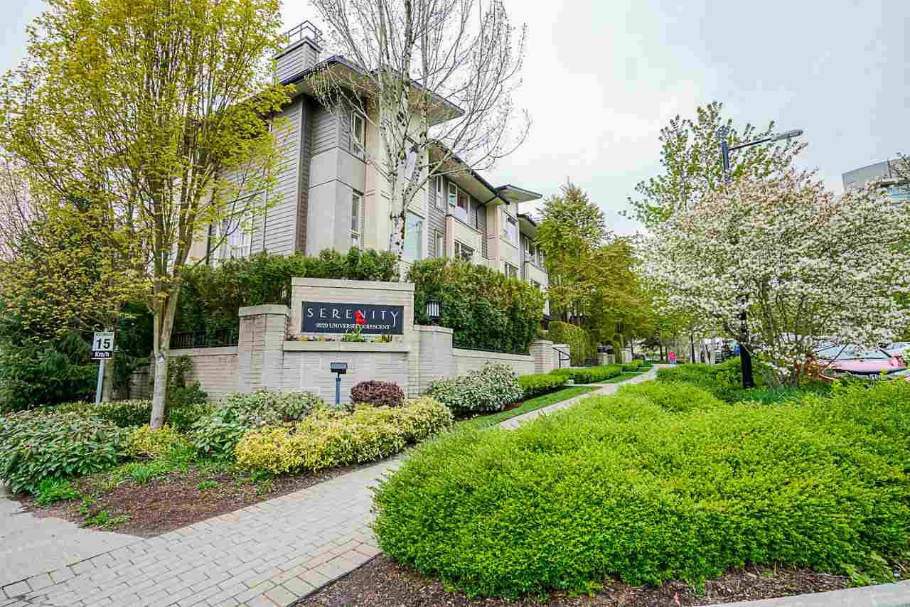 Main Photo: #129 9229 UNIVERSITY CRESCENT in Burnaby: Simon Fraser Univer. Townhouse for sale (Burnaby North)  : MLS®# R2452458