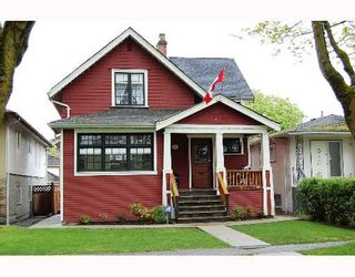 Photo 1: 769 W 20TH Avenue in Vancouver: Cambie House for sale (Vancouver West)  : MLS®# V654025