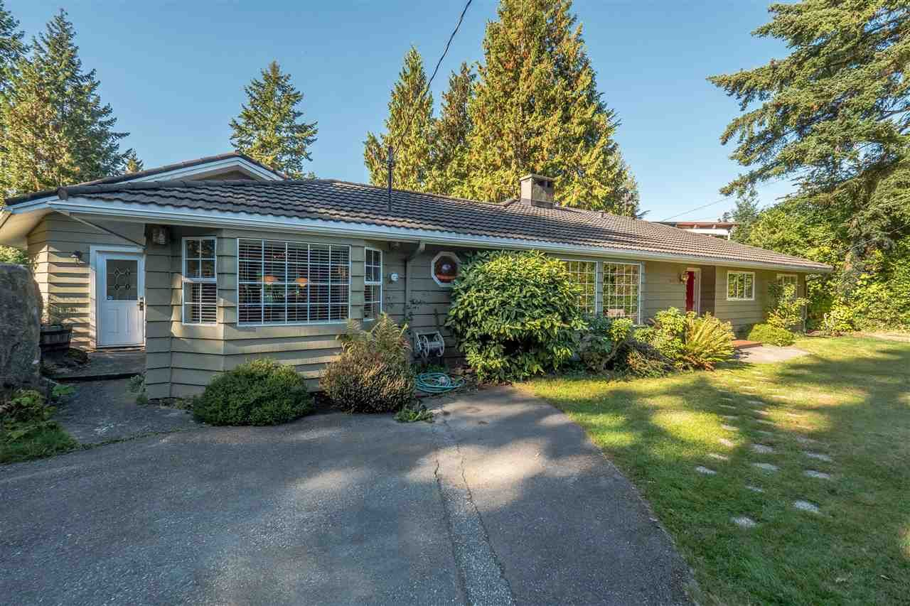 Main Photo: 5407 GREENTREE ROAD in West Vancouver: Caulfeild House for sale : MLS®# R2212648