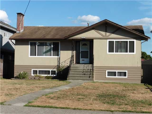 Main Photo: 8158 12TH Avenue in Burnaby: East Burnaby House for sale (Burnaby East)  : MLS®# V1137620