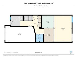 Photo 26: 155 230 EDWARDS Drive in Edmonton: Zone 53 Townhouse for sale : MLS®# E4239083