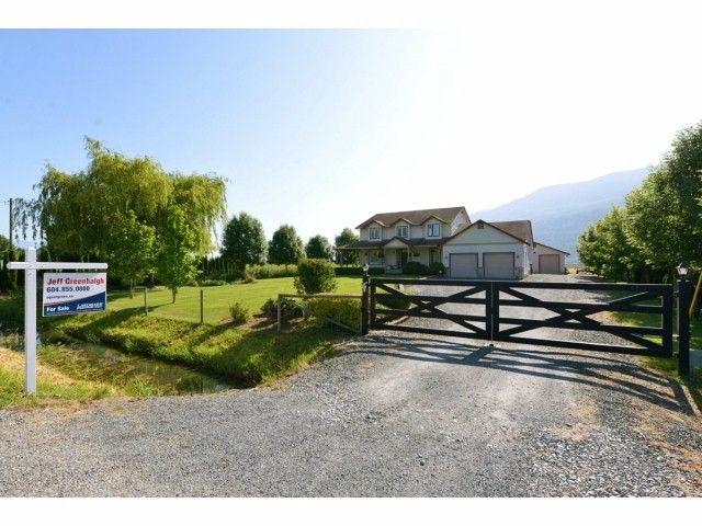 Main Photo: 2782 INTERPROVINCIAL Highway in Abbotsford: Sumas Prairie House for sale : MLS®# F1413878