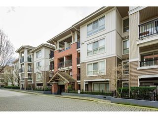 "Photo 1: C414 8929 202 Street in Langley: Walnut Grove Condo for sale in ""THE GROVE"" : MLS®# R2536521"