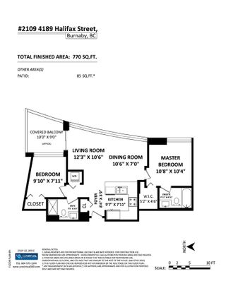 """Photo 20: 2109 4189 HALIFAX Street in Burnaby: Brentwood Park Condo for sale in """"AVIARA"""" (Burnaby North)  : MLS®# V1136442"""