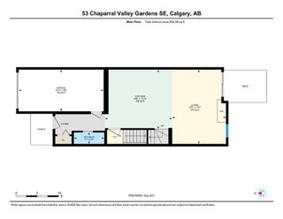 Photo 47: 53 Chaparral Valley Gardens SE in Calgary: Chaparral Row/Townhouse for sale : MLS®# A1146823