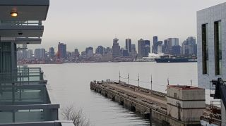 """Photo 5: 410 175 VICTORY SHIP Way in North Vancouver: Lower Lonsdale Condo for sale in """"CASCADE AT THE PIER"""" : MLS®# R2552269"""