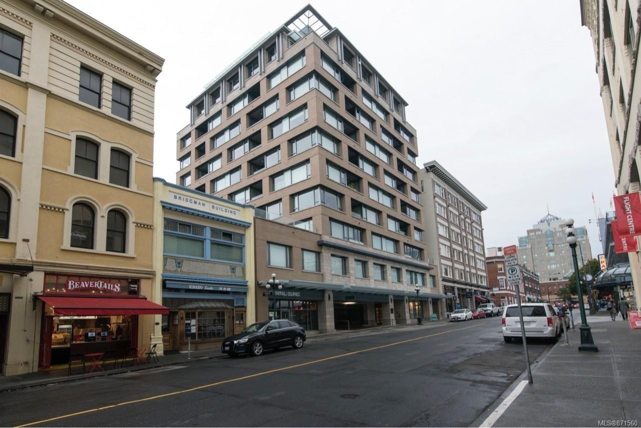 Main Photo: 605 608 Broughton St in : Vi Downtown Condo for sale (Victoria)  : MLS®# 871560