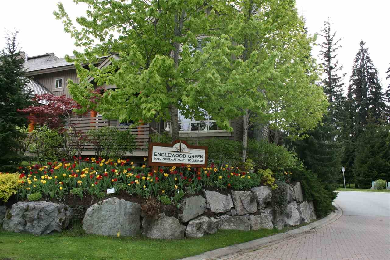 """Main Photo: 20 8030 NICKLAUS NORTH Boulevard in Whistler: Green Lake Estates Condo for sale in """"ENGLEWOOD GREENS"""" : MLS®# R2464169"""