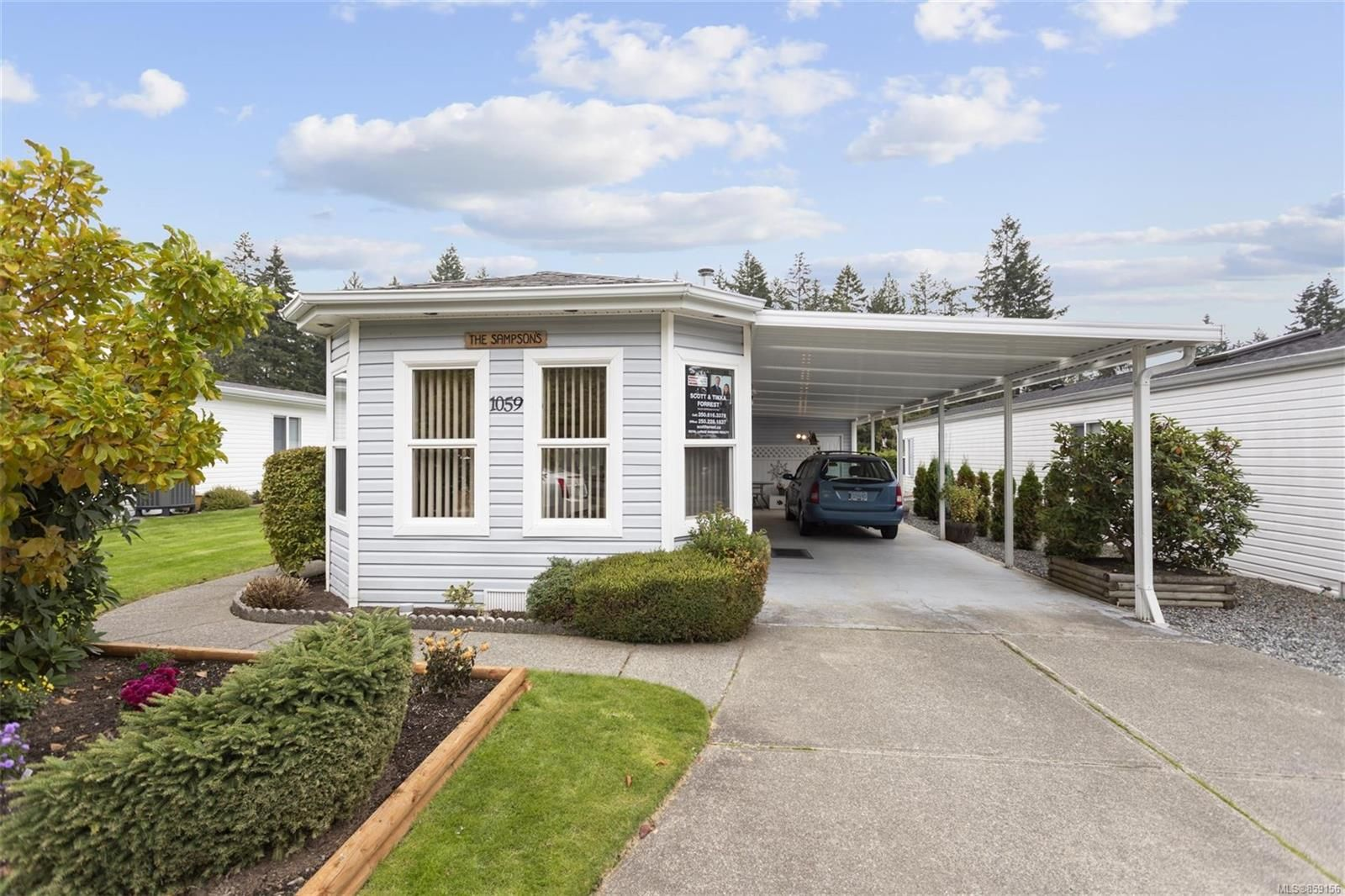 Main Photo: 1059 Collier Cres in : Na University District Manufactured Home for sale (Nanaimo)  : MLS®# 859156