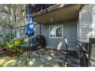 """Photo 18: 106 2581 LANGDON Street in Abbotsford: Abbotsford West Condo for sale in """"Cobblestone"""" : MLS®# R2154398"""