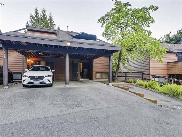 Main Photo: 214 Cambridge Way in Port Moody: College Park PM Townhouse for sale : MLS®# R2487276