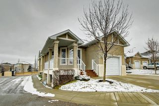Main Photo: 91 Evercreek Bluffs Place SW in Calgary: Evergreen Semi Detached for sale : MLS®# A1075009