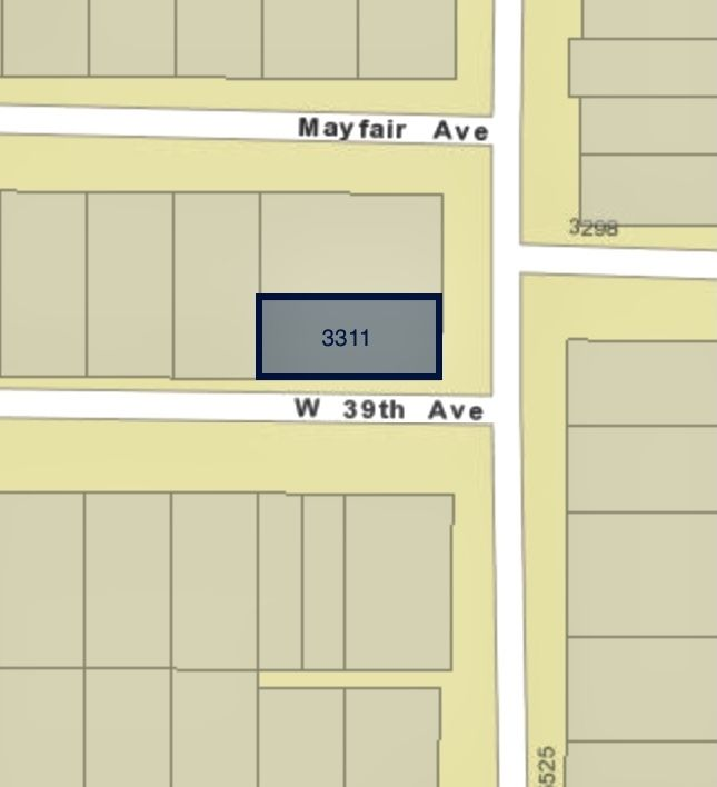 Main Photo: 3311 W 39TH Avenue in Vancouver: Dunbar Land for sale (Vancouver West)  : MLS®# R2562920