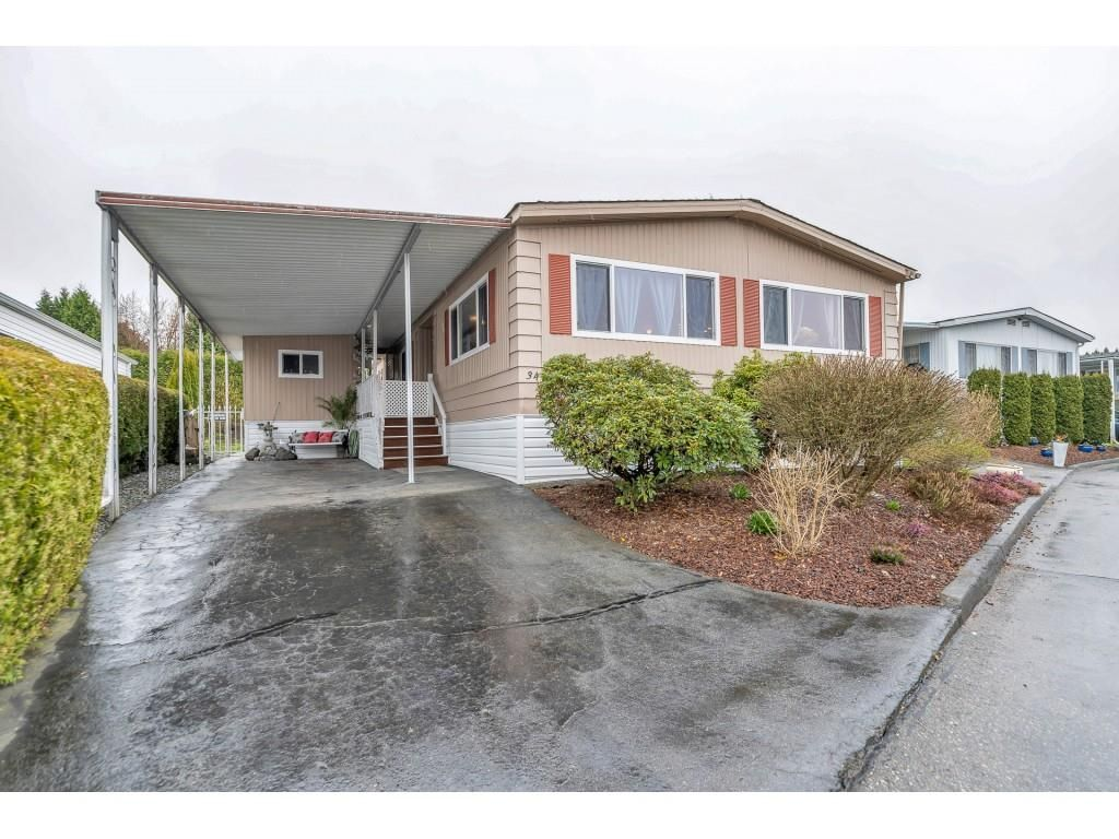 "Main Photo: 34 8254 134TH Street in Surrey: Queen Mary Park Surrey Manufactured Home for sale in ""WESTWOOD ESTATES"" : MLS®# R2563882"
