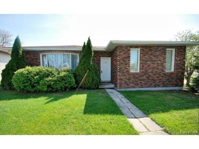 Main Photo: 132 Tu-pelo Avenue in WINNIPEG: East Kildonan Residential for sale (North East Winnipeg)  : MLS®# 1512372