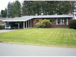 Photo 1: 2867 WOODLAND Street in Abbotsford: Central Abbotsford House for sale : MLS®# F1305815