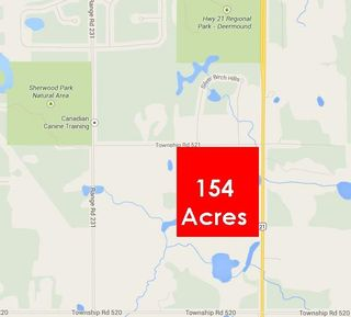 Main Photo: H/W 21 TWP RD 521: Rural Strathcona County Rural Land/Vacant Lot for sale : MLS®# E4251916