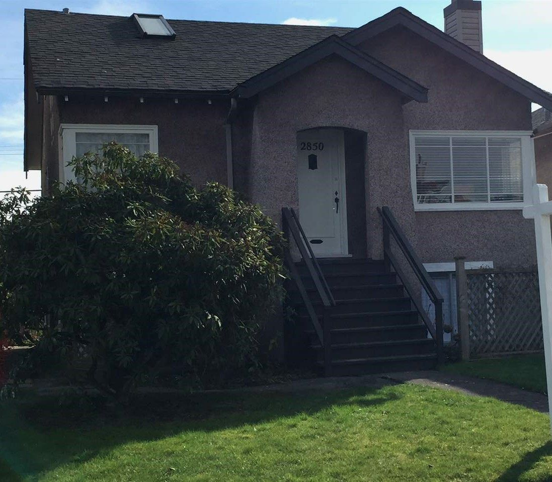 Main Photo: 2850 W 21ST Avenue in Vancouver: Arbutus House for sale (Vancouver West)  : MLS®# R2246814
