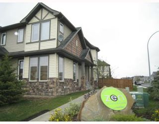 Photo 1: 501 2445 KINGSLAND Road SE: Airdrie Townhouse for sale : MLS®# C3391132